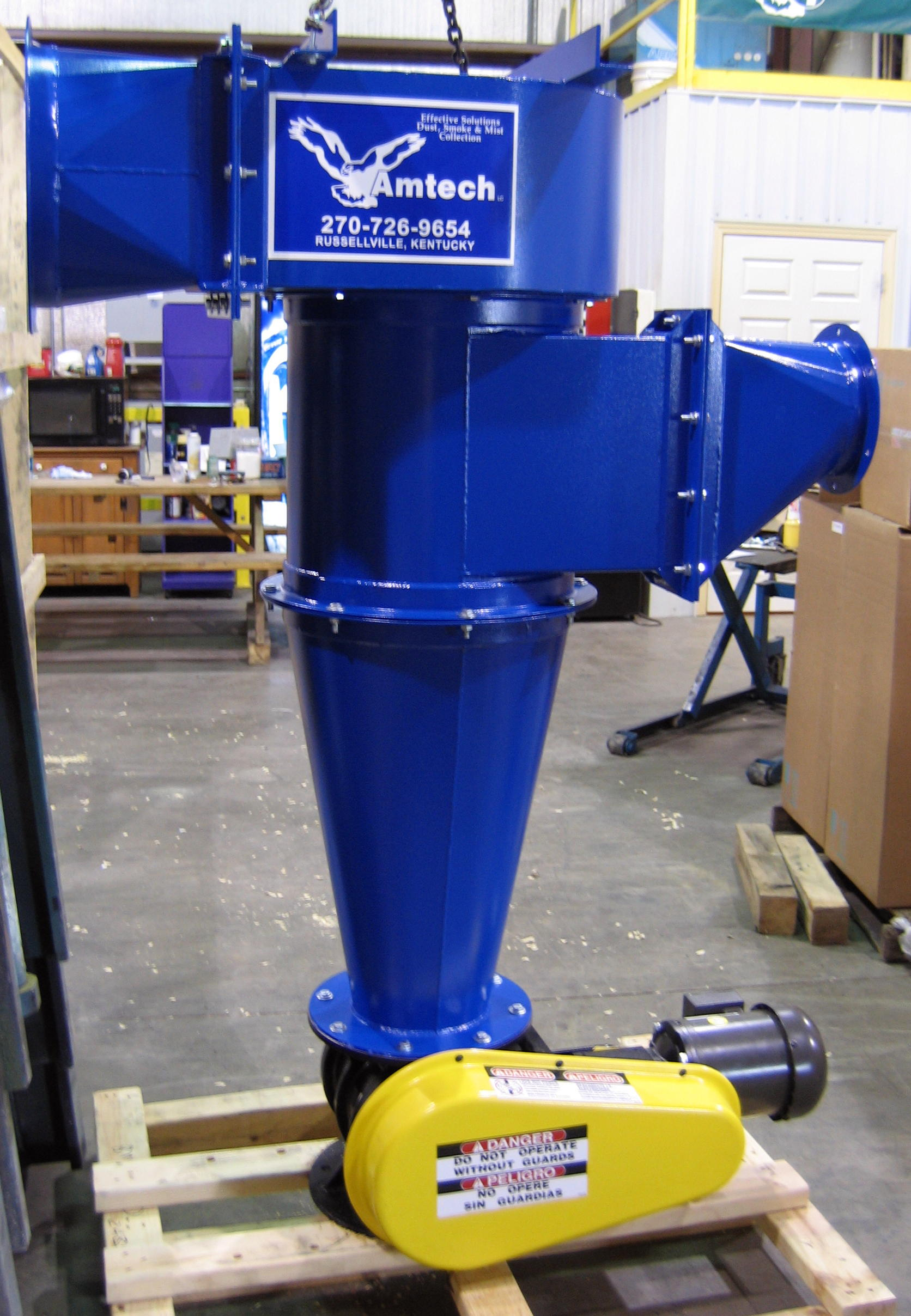 Cyclone Atc Series Cyclone Dust Collector